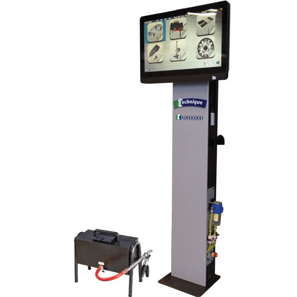 Technique T8000 Emissions Tester - Bullworthy Garage Equipment