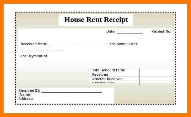 6+ rent receipt format in word | park-attendant