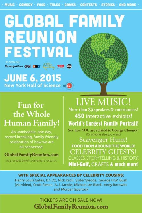 Global Family Reunion- June 6 – Rockland NY Mom