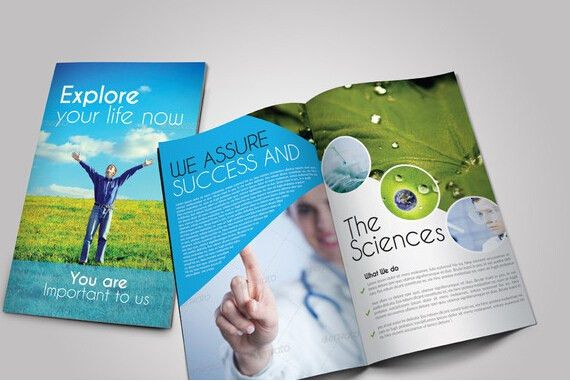 Sample Bi Fold Brochure. Scientific Medical Bi Fold Brochure 8 .