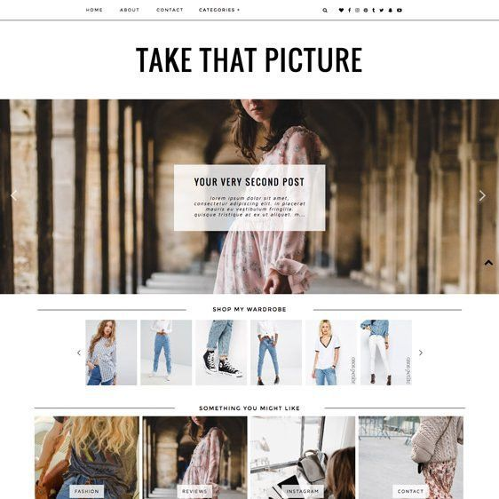 Blogger Template- Take That Picture | Blogger Templates + ...