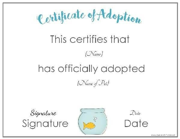 15 birth certificate templates word pdf template lab free adoption certificate template customize online yadclub Images