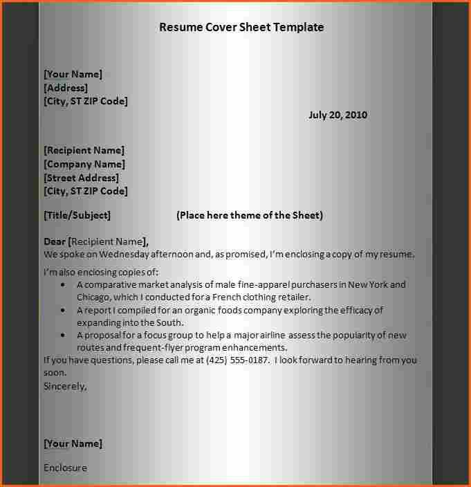 9 best resume cover letter - Budget Template Letter
