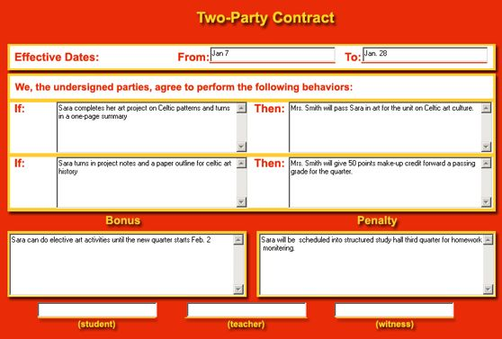 12 Best Images of Two-Party Agreement Form - Contract Agreement ...