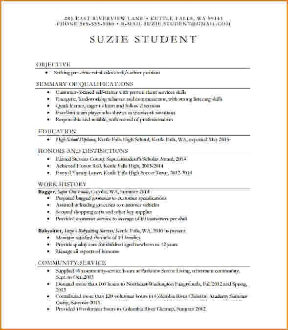7+ high school resume sample | bibliography format