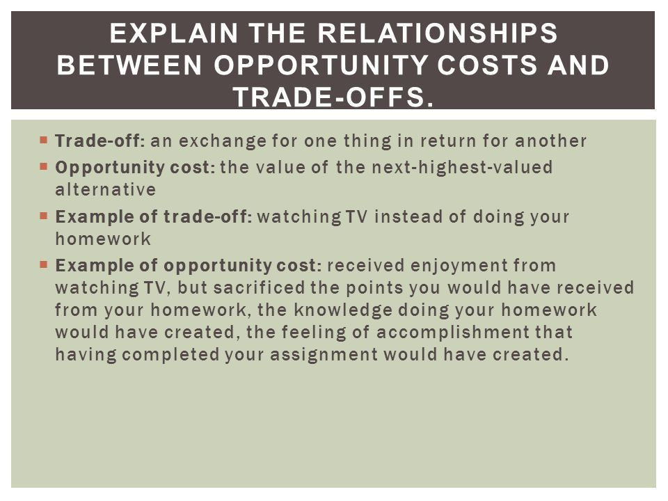 Scarcity & Opportunity Cost - ppt download