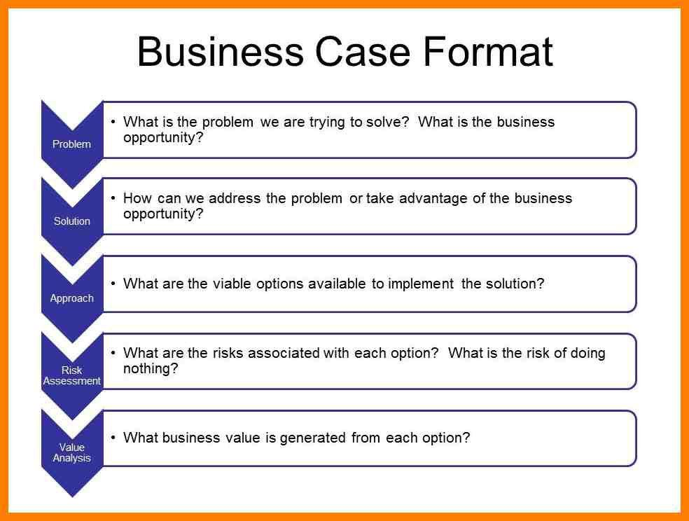 6+ business case template for project management | joblettered