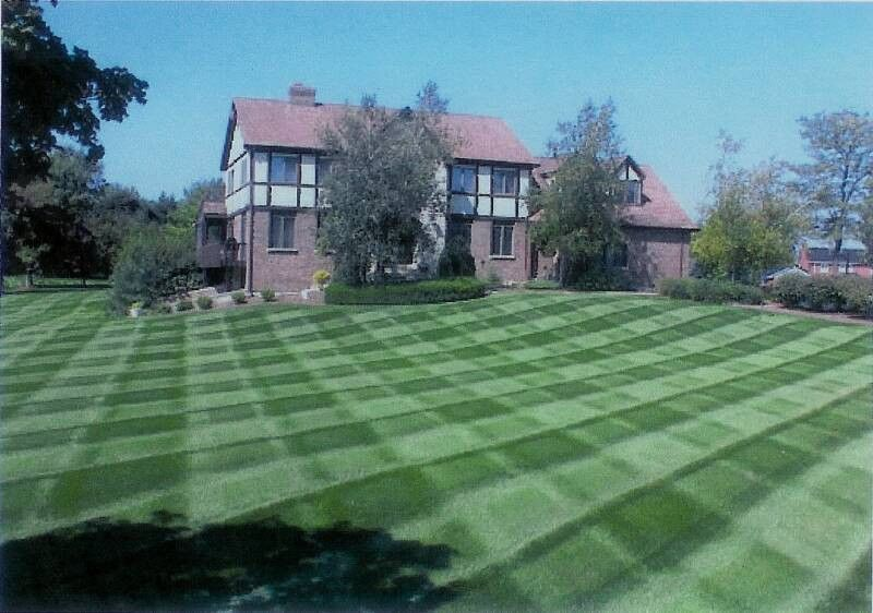 This is the way to mow a lawn, beautiful...   Lawn Mowing ...