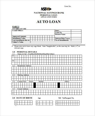 Sample Personal Loan Agreement Forms - 9+ Free Documents in Word, PDF