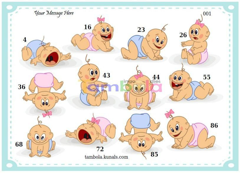 Baby Shower anywhere 13 in 9x3 format :Templates Tickets | Baby ...