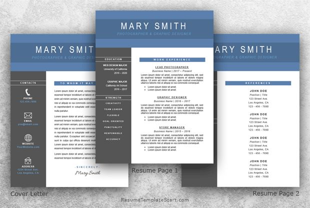 Resume Template Word - Resume Template Start