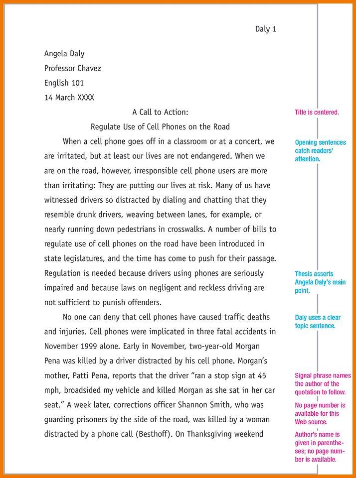6+ mla format example | postal-carrier