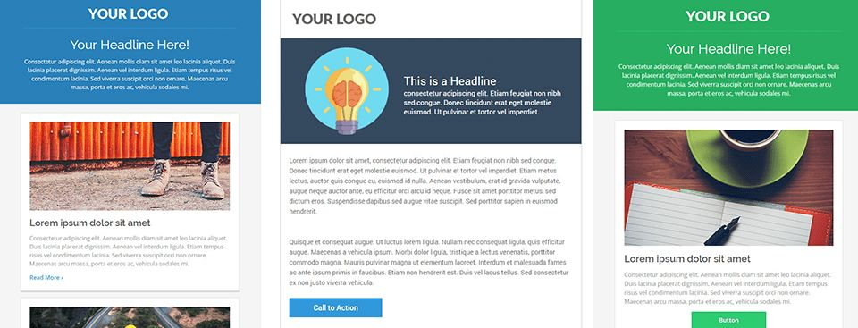 6 Free Responsive Marketo Email Templates