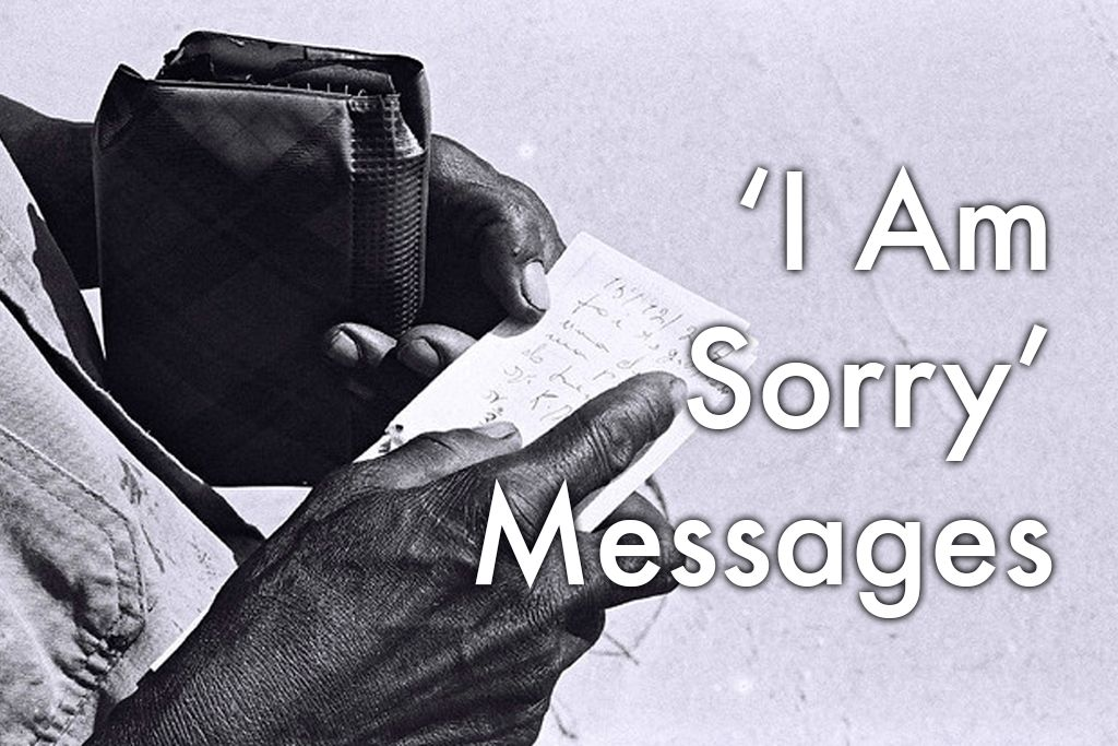 I'm Sorry Messages for Him and Her: 40 Ways to Apologize | PairedLife