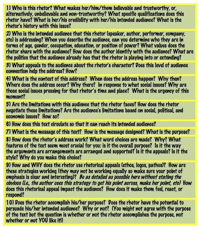 What is Rhetorical Analysis? - Digital Rhetorics