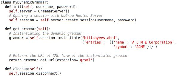 NuGram Hosted Server APIs