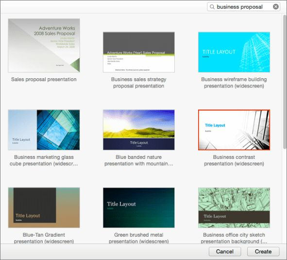 Using Templates in PowerPoint 2016 for Mac - PowerPoint for Mac