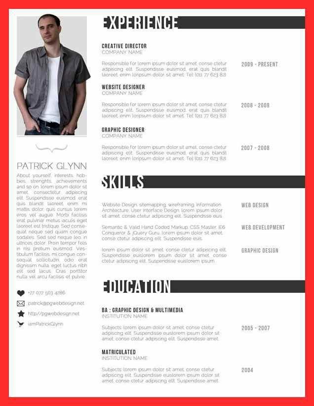 formal resume format | good resume format