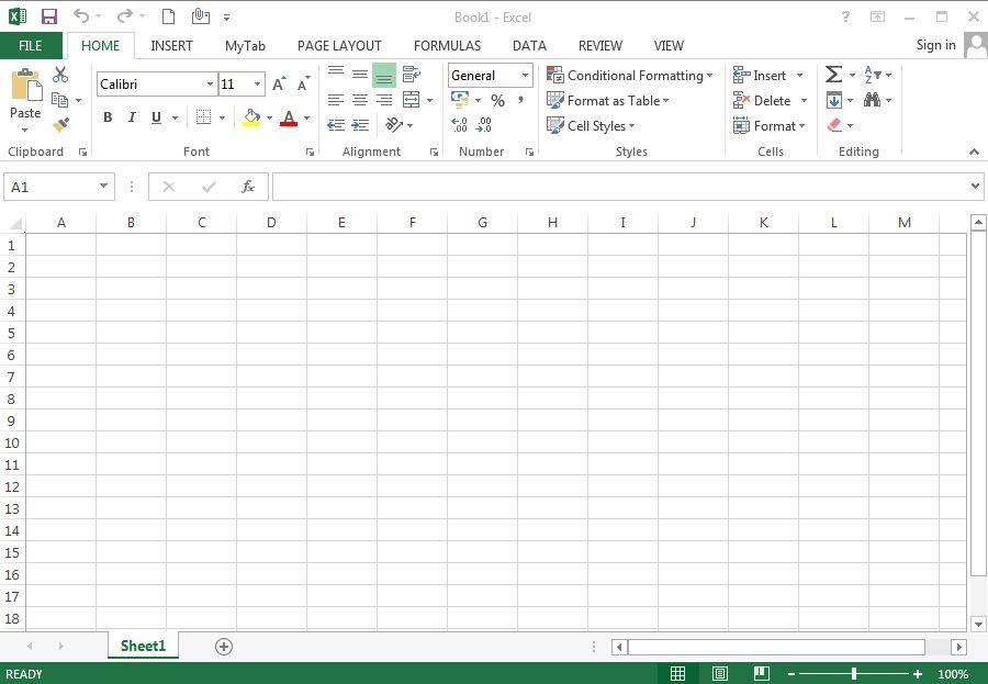 Beginning Excel Tutorials » The Excel 2013 User Experience