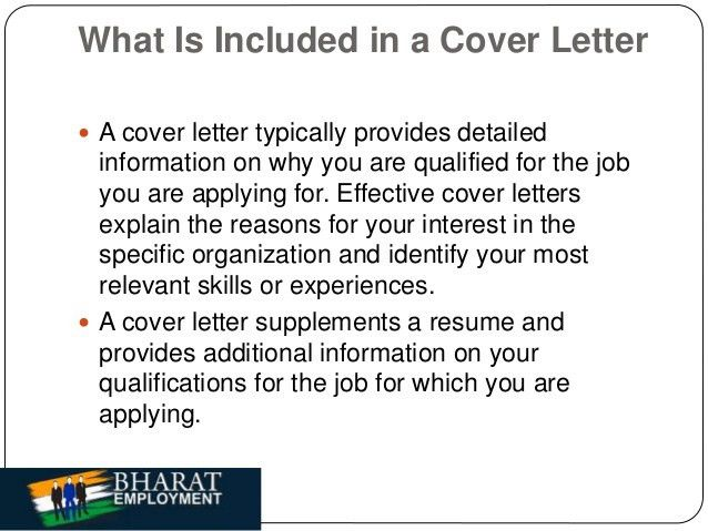 Download What Should I Put On A Cover Letter ...