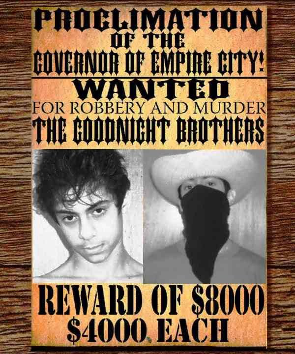 July/August 2011 Contest: Design a Wanted Poster! | The West - NET