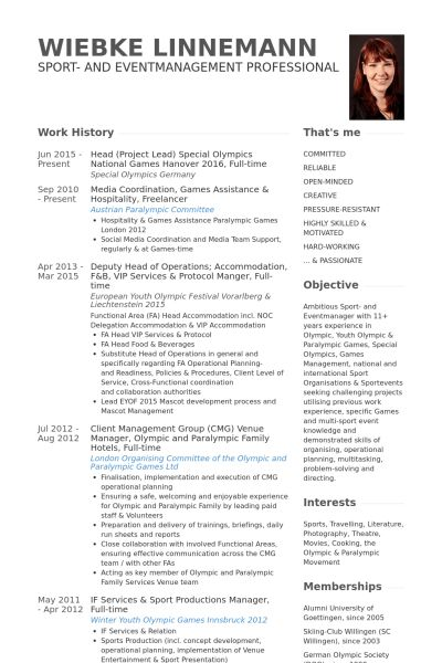 Head Of Operations Resume samples - VisualCV resume samples database