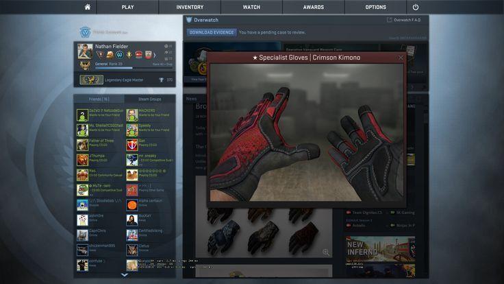 MW Specialist Gloves | Crimson Kimono | best-games | Pinterest