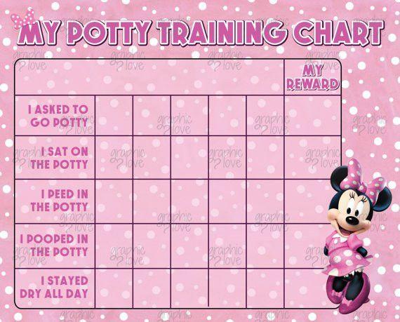 Potty Training Chart by MelissaStanleyDesign on Etsy | kids ...