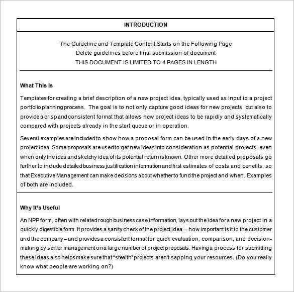 Business Proposals Templates - formats.csat.co