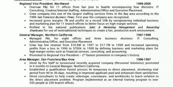 Staffing Consultant Resume Sample Staffing Agency Recruiter Resume ...