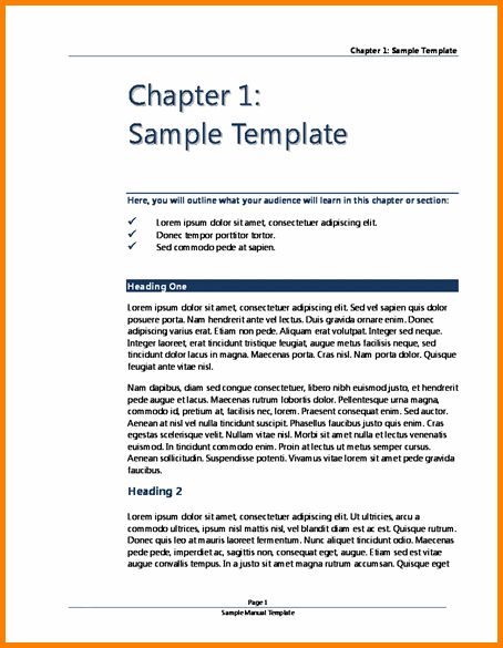 11+ user manual template | Letter Template Word