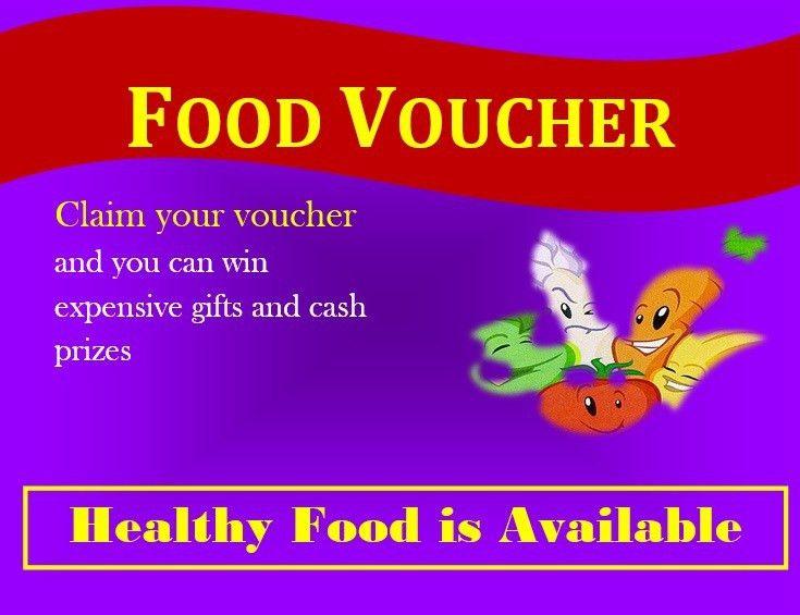 7 Free Sample Food Voucher Templates – Printable Samples