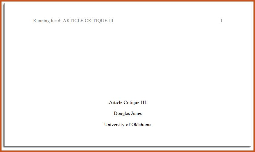 example of apa title page | sop example