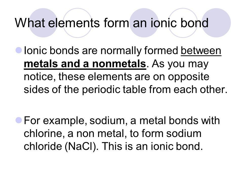 Chapter 6: Chemical Bonds - ppt video online download