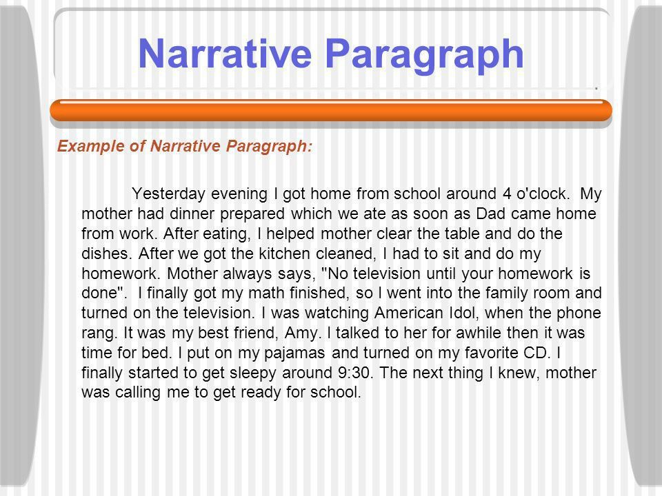Learning about paragraphs - ppt video online download