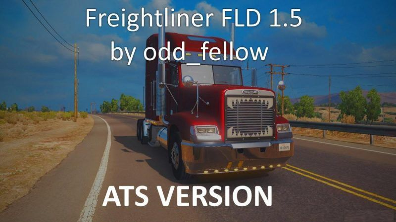 ATS] Freightliner FLD v1.5 by odd_fellow | American Truck ...