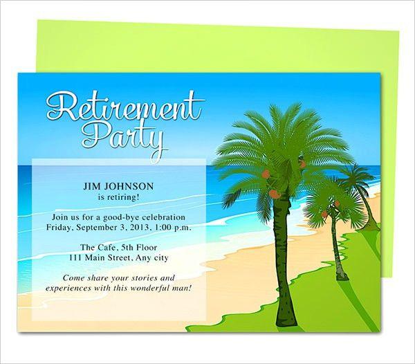 Retirement Party Invitations Templates – gangcraft.net