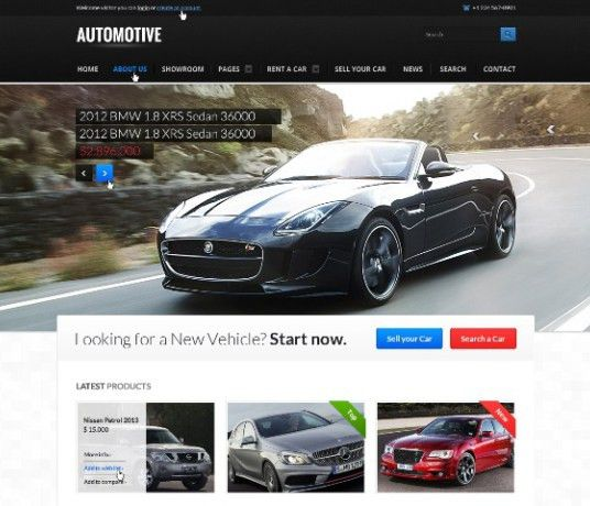 40 Cars & Transportation HTML CSS3 Website Templates