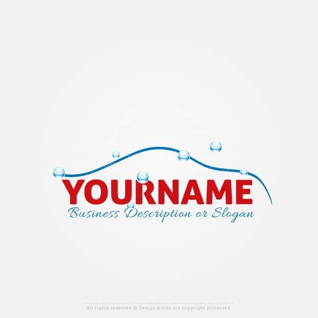 Online Logos Store - Car wash logo template