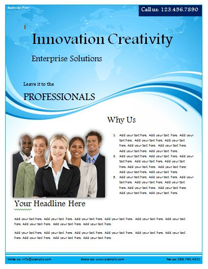 seminar flyer template word - Template