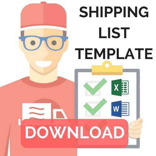 How to create a packing list + Shipping list template - ShippyPro