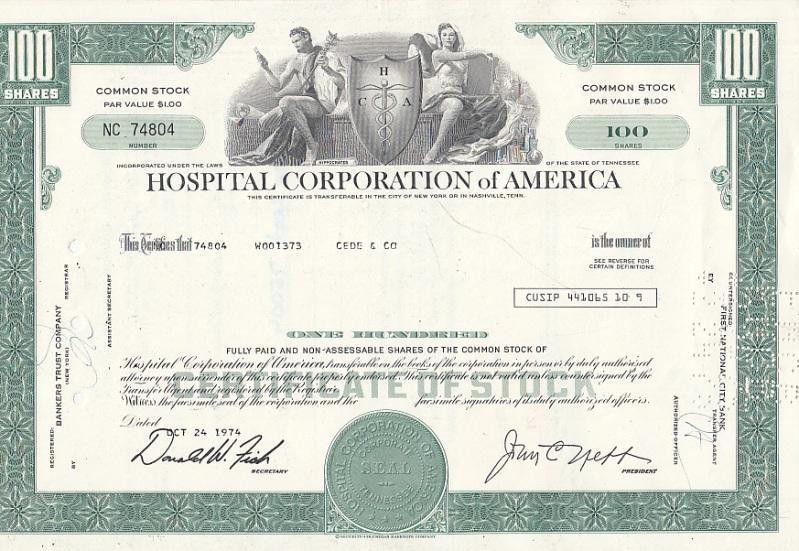 Stock Certificate - AbeBooks