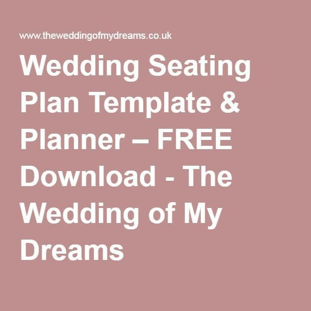 Best 25+ Seating plan template ideas on Pinterest | Wedding ...