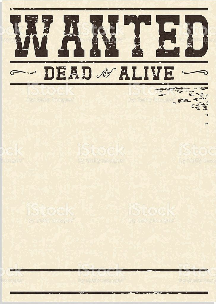 Wanted Poster Clip Art, Vector Images & Illustrations - iStock