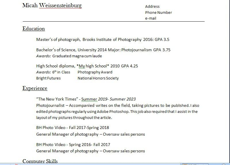 Interesting Ideas How To A Resume 2 How Make Resume With Free ...
