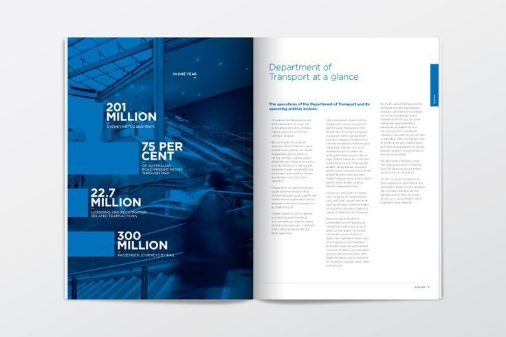 Annual Report Design Templates Annual report transport QULXQcW3 ...