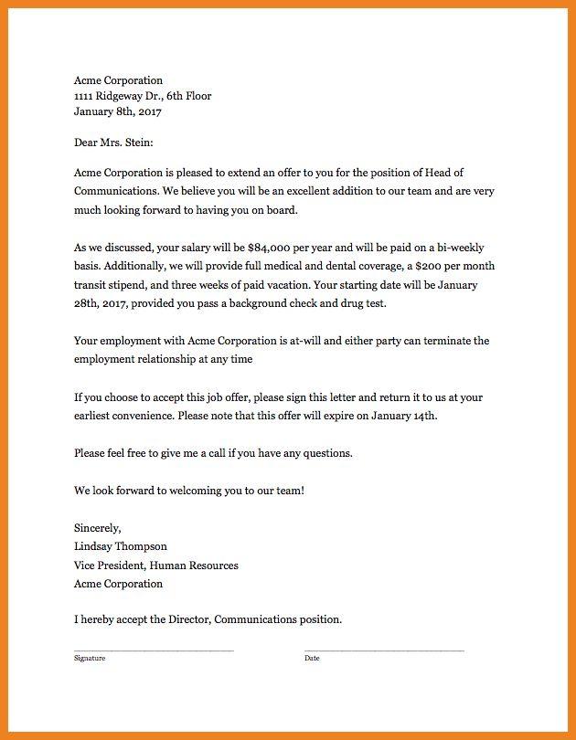 offer letter template | teller resume sample