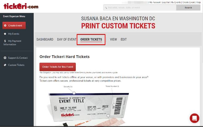 Batch Ticket Printing now available