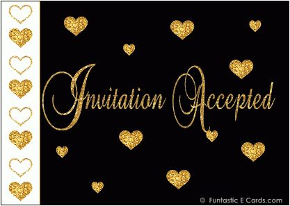 FREE Animated All Occasion *e ACCEPTANCE CARDS* Engagement ...