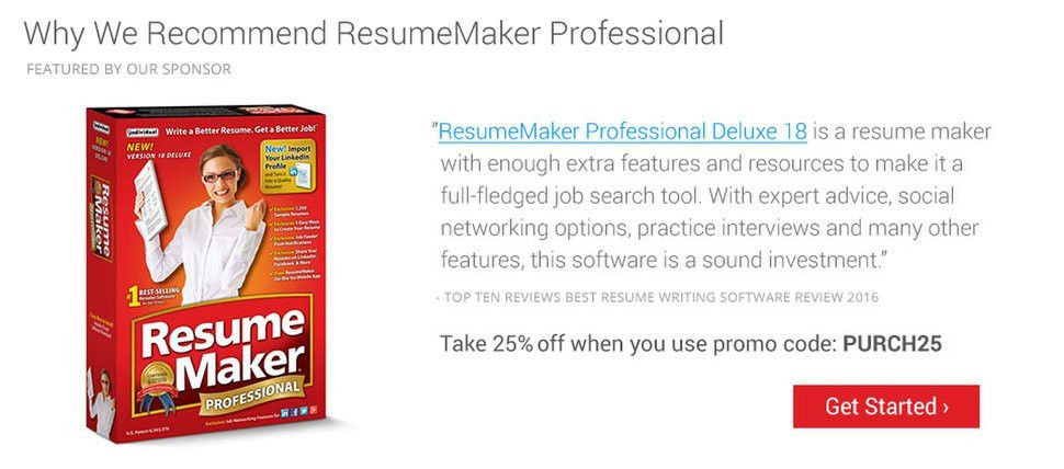 The Best Resume Writing Software | Top Ten Reviews